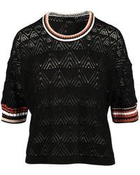 Roberto Collina Sweater - Zwart