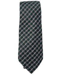 Lanvin Silk Tie - Verde