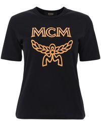 MCM Short Sleeve T-shirt - Zwart