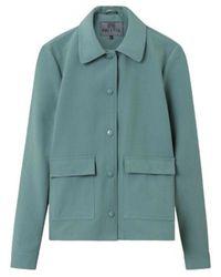 Brixtol Textiles Sissel Petrol jacket - Verde