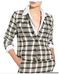 MARC AUREL Short blazer Beige - Neutro