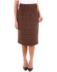 ACTUALEE 20F3105 Skirt - Nero