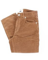 Mauro Grifoni Trousers Gh24200287 - Bruin