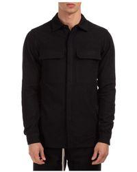 Rick Owens - Long Sleeve Shirt - Lyst