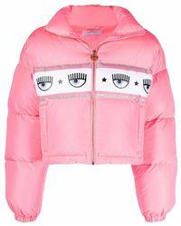 Chiara Ferragni Coat - Roze