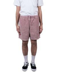 Obey Pantaloncini Easy OD - Pink