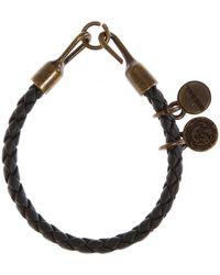 DIESEL - Bracelet tressé - Lyst