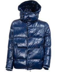 Emporio Armani Coat - Blauw