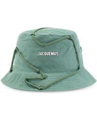 Jacquemus Le Godjo Hat With Logo - Groen