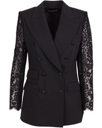 Dolce & Gabbana Blazer - Zwart