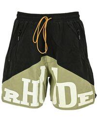 Rhude Shorts Sh00000008felpa - Zwart
