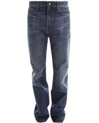 Saint Laurent Women's Clothing Jeans 644332y10ga - Blauw