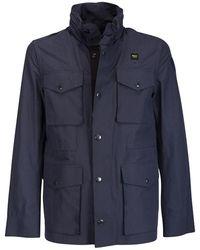 Blauer Coat - Blauw