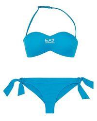 EA7 Bikini 911016 Cc418 - Bleu