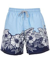 Vilebrequin Swim Shorts - Blauw