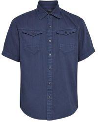 G-Star RAW Overhemd - Blauw