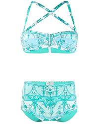 Etro Swimsuit - Blauw