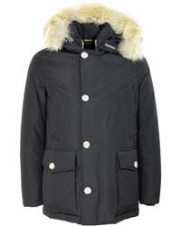 Woolrich Arctic Anorak Jacket Cfwoou0272mrut0001 - Zwart