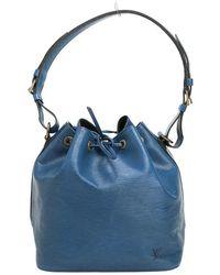 Louis Vuitton Authentieke Epi Bucket Petite - Blauw