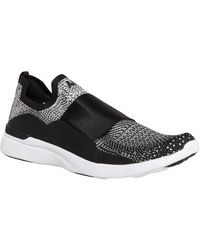 Athletic Propulsion Labs Slip-on Tech Loom Bliss Trainers - Grijs