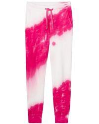 Alpha Studio Petra Tie Dye Regular Fit sweatpants - Rosa