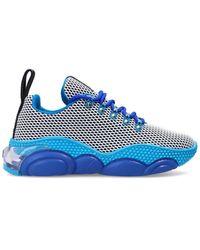 Moschino Bubble Teddy' Sneakers - Blauw