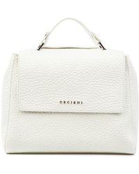 Orciani Handbag B01999 Sof 11 - Wit