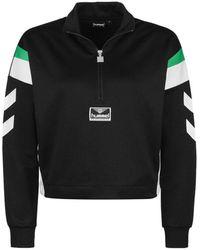 Hummel Clara Half Zip Jacket - Zwart