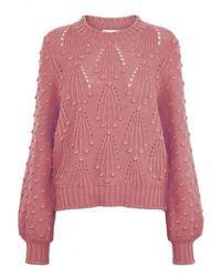 Second Female Knitwear - Roze