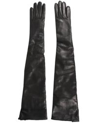 Ann Demeulemeester Gloves - Zwart