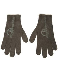 Armani Knitted Gloves - Groen