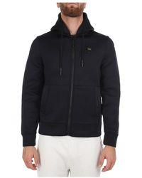 Blauer 21wbluf 02224 004745 hoodie with zip - Negro