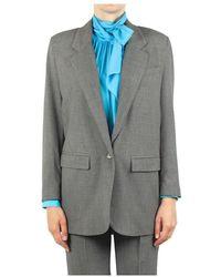 Ottod'Ame Jacket Dey-eg5563 - Grijs