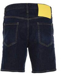 Kuboraum Shorts Azul