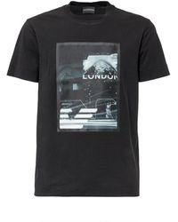 Emporio Armani T-shirt with Print - Nero