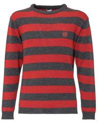 Loewe Sweater With Logo - Rood