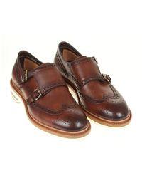 Santoni - Shoe double buckle - Lyst