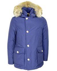 Woolrich Arctic Anorak Jacket Cfwoou0272mrut0001 - Blauw