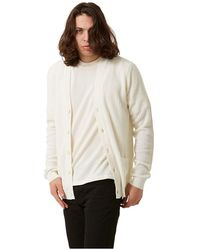 Roberto Collina Knitted Cardigan - Wit