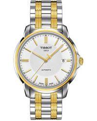 Tissot Automatics Iii Watch - Wit