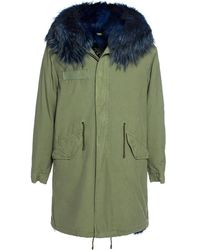 Mr & Mrs Italy Exclusive Fw20 Icon Parka - Groen