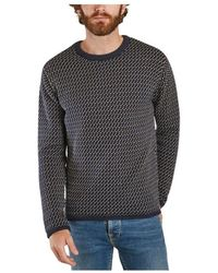 Knowledge Cotton Apparel Pull valley - Bleu
