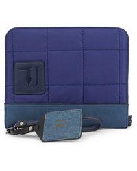 Trussardi Wallet- Ticinese_71b00105-99 - Blauw