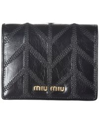 Miu Miu Wallet - Zwart