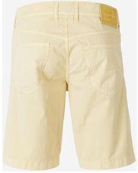 Jacob Cohen Denim Bermuda Shorts - Geel