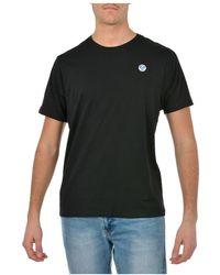 North Sails T-shirt - Zwart