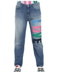 Love Moschino Jeans - Blauw