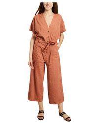 Sessun Santa Giulia Jumpsuit - Oranje