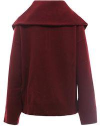 Erika Cavallini Semi Couture Knitwear E1Wa30 Rojo