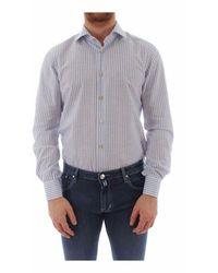 Kiton Shirt - Bleu